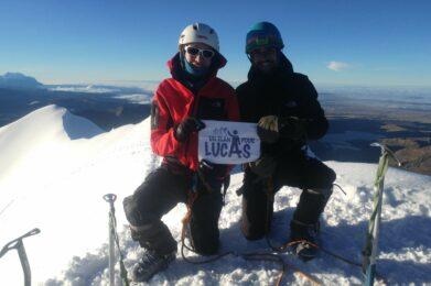 Jean sommet Bolivie